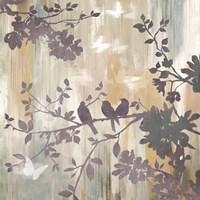 Mist Foliage I Framed Print