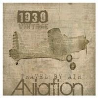 Aviation I - Mini Fine-Art Print