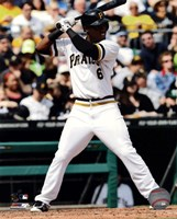 Starling Marte 2013 Action Fine-Art Print