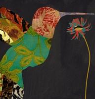 Hummingbird Brocade IV Fine-Art Print
