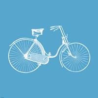 Blue Bicycle Fine-Art Print