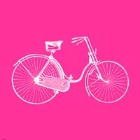 Pink Bicycle Fine-Art Print