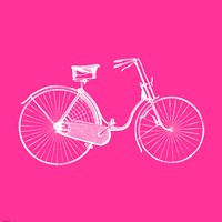 Pink Bicycle Fine-Art Print