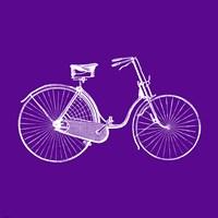 Purple Bicycle Fine-Art Print