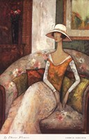 La Chaise Fleurie Fine-Art Print