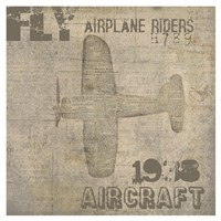 Aviation III - Mini Fine-Art Print