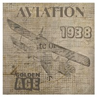 Aviation IV- Mini Fine-Art Print