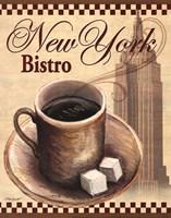 New York Bistro Fine-Art Print