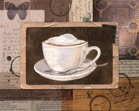 Vintage Latte - mini Fine-Art Print