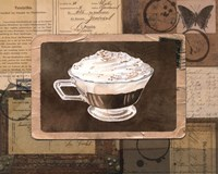 Vintage Eiskaffee - mini Fine-Art Print