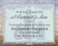 French Soap Label II Fine-Art Print