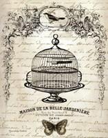 French Birdcage I Fine-Art Print