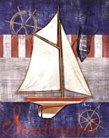 Maritime Boat II Fine-Art Print