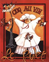 Coq Au Vin - mini Fine-Art Print
