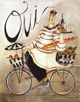 Chef & Wine I Fine-Art Print