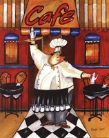 Cafe - mini Fine-Art Print