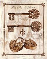 Keys to Paris I Framed Print