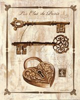Keys to Paris II Fine-Art Print
