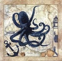 Nautical Octopus Fine-Art Print
