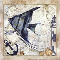 Nautical Fish II Fine-Art Print