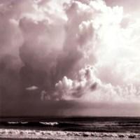 Ocean Storm I Sq. BW Fine-Art Print