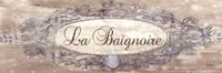 La Baignoire Sign - mini Fine-Art Print
