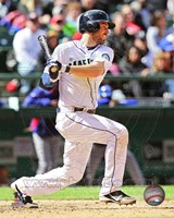 Dustin Ackley 2013 Action Fine-Art Print