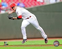 Zack Cozart in action 2013 Fine-Art Print