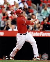 Mike Trout 2013 batting Fine-Art Print