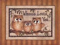 Whoooo Loves You Fine-Art Print