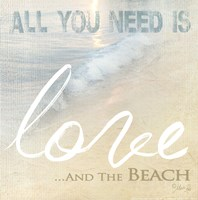 Love And The Beach Fine-Art Print