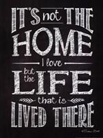 It's Not The Home Fine-Art Print