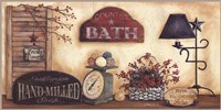 Country Bath - Fresh Towels Fine-Art Print