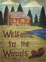 Welcome To The Woods Fine-Art Print