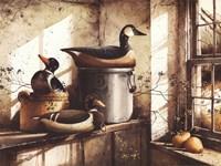 Crocks And Fowl Fine-Art Print