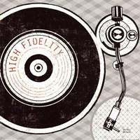 Vintage Analog Record Player Fine-Art Print