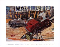 Juguetes Mecnicos II Fine-Art Print