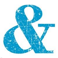 Blue Ampersand Fine-Art Print
