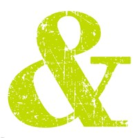 Lime Ampersand Fine-Art Print