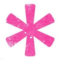 Pink Asterisk Fine-Art Print