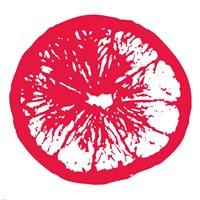 Red Orange Slice Fine-Art Print