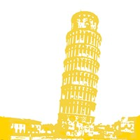 Pisa in Yellow Fine-Art Print