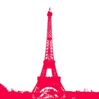 Red Eiffel Tower Fine-Art Print