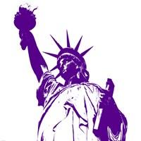 Liberty in Purple Fine-Art Print