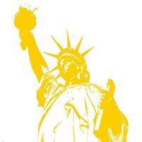 Liberty in Yellow Fine-Art Print