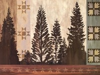 Pine Trees Lodge II Fine-Art Print