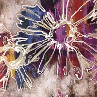 Floral Kick I Fine-Art Print