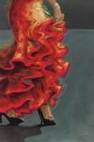 Flamenco Fiesta II Fine-Art Print