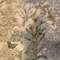 Flowers Butterfly II Fine-Art Print