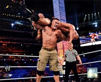 John Cena Wrestlemania 29 Action Fine-Art Print